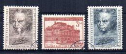 Czechoslovakia - 1952 - International Music Festival - Used - Used Stamps