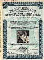 Tanneries De Saventhem - Acciones & Títulos