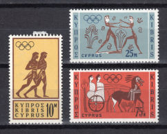 Greek Cyprus, 1964, Olympic Summer Games Tokyo, Sports, MNH, Michel 237-239 - Autres - Europe
