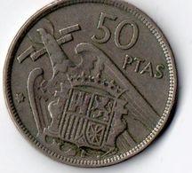 Spanje - 50 PTAS - 1957 - [ 5] 1949-… : Royaume