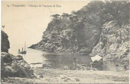 83. ILES DE PORQUEROLLES.  CALANQUE DE L OUSTAOU DE DIOU - Porquerolles