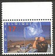 Belgium - 1997 UN Peacekeeping MNH **    Sc 1642 - Unused Stamps