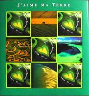 FR. 2002 - BLOC & FEUILLET N° 43 J'aime Ma Terre - 5 TIMBRES NEUFS** 2,30€ - Vendu Sous Faciale - TBE - Blokken En Velletjes