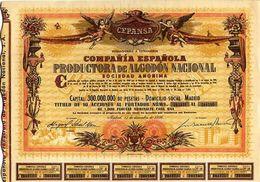 Compañía Española Productora De Algodón Nacional S. A. - Agriculture