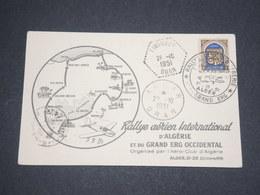 ALGÉRIE - Carte Du Rallye Aérien D 'Algérie En 1951 - L 13062 - Algérie (1924-1962)