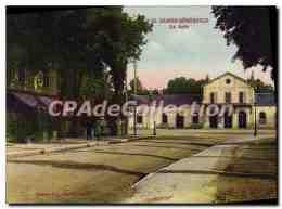 CPA Sainte Menehould La Gare - Sainte-Menehould