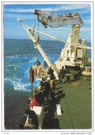 Terres  Australes Et Antarctiques Françaises(TAAF)- Forage En Mer - Opération De Carottage à Bord  Du Marion DUFRESNE - TAAF : Terres Australes Antarctiques Françaises