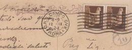 O.N.B. CAMPO DUX ROMA 10/9/1932 Annullo Per Vicenza Cartolina Roma - Storia Postale