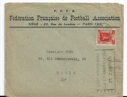 1936 France Fédération Francaise De Football Association,voetbal,soccer - Covers & Documents