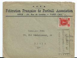 1936 France Fédération Francaise De Football Association,voetbal,soccer - Francia