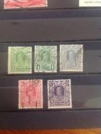 Norway 1910-8 King Set Inc Shades Used SG 155-8 + 155a Mi 89-92 - Noruega
