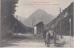 Bm - Cpa CAUTERETS - Station De Calypso Et Pic De Péguère - Cauterets