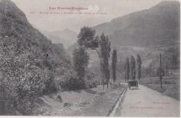 Bm - Cpa Route De LUZ à GAVARNIE - Au Fond Le Piméné - Gavarnie