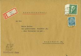 Deutsches Reich 514,670 Auf R-Brief - Deutschland