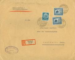 Deutsches Reich 2x669,514 Auf R-Brief - Deutschland