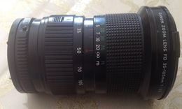 Objectif CANON Zoom Macro FD 35-105 Mm 1:3,5 No 324757 - Supplies And Equipment