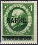 Sarre - Timbres D'Allemagne De 1914-16 Surchargés - N° 31 Neuf Avec Charnière. - 1920-35 Société Des Nations