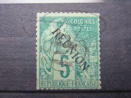 """VEND TIMBRE DE LA REUNION N° 20 , CACHET """" PP """" !!! - Reunion Island (1852-1975)"""