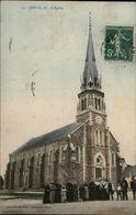 44 - JANS - église - France
