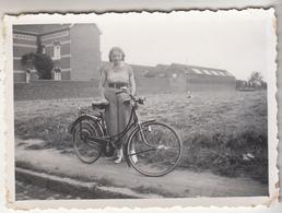 Waterloo - Vélo - 1937 - à Situer - Photo Originale Format 6 X 8.5 Cm - Cycling