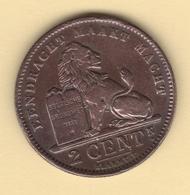 Belgique. Albert I °. 2 Cent 1911 FL. Morin # 311a. TTB - 1909-1934: Albert I