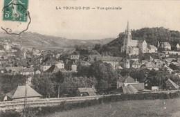 Carte Postale Ancienne De L'Isère - La Tour Du Pin - Vue Générale - La Tour-du-Pin