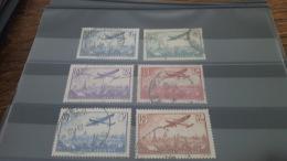 LOT 385836 TIMBRE DE FRANCE OBLITERE N°8 A 13 VALEUR 55 EUROS - Airmail
