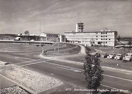 Flughafen Zürich-Kloten - 1954 - Nicht Häufige Ansicht Mit Oldtimern    (P-111-60624) - Aérodromes