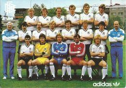 1984 Deutschland Nationalmannschaft Football/soccer/voetbal - Calcio