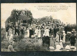 CPA - PERROS GUIREC - La Clarté - Le Pèlerinage Annuel à La Roche Des Martyrs, Très Animé - Perros-Guirec