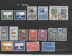 EUROPA 1957 17 Valeurs Oblitérés Rond - Europa-CEPT