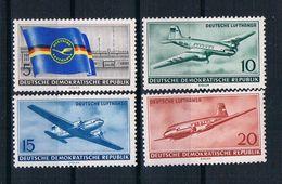 DDR 1956 Flugzeuge Mi.Nr. 512/15 Kpl. Satz ** - [6] Repubblica Democratica