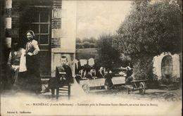44 - MASSERAC - Laveuses - Lavoir - Accordéon - France