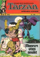 Tarzan Apenes Konge N° 16 – Mannen Uten Ansikt (in Norwegian) Williams Forlag Oslo - August 1973 - Bon état. - Books, Magazines, Comics