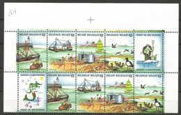 Belgium - 1988 Ocean Protection Corner Block MNH **    Sc 1283 - Belgium