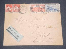 ALGÉRIE - Enveloppe De Ain Chénia Pour La France En 1939 Par Avion - L 13088 - Algérie (1924-1962)
