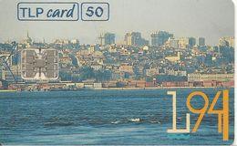 CARTE-PUCE-50 U-SC7-04/94-LISBOA 94 CAPITAL EUROPEV° N°9 Rge C441445525-UTILISE-TBE - Portogallo