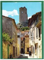 GRUISSAN - Vieille Ruelle Dominée Par La Tour Barberousse - Autres Communes