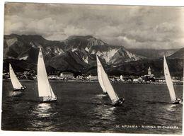 APUANIA - MARINA DI CARRARA - VERA FOTO - VG 1950 FG - C564 - Carrara