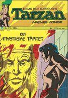 Tarzan Apenes Konge N° 21 – Det Mystiske Tårnet - (in Norwegian) Williams Forlag Oslo - Oktober 1974 - Limite Neuf - Scandinavian Languages