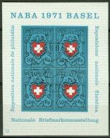 Schweiz Block 21 O Sonderstempel - Blocks & Sheetlets & Panes