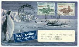 Expédition Antarctique Belge. 1958. Cob 1030/31. - Belgique