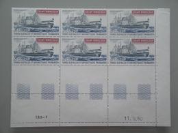 1980 TAAF SFAT Yv  PA 63 X 6 **  Bateaux Ships  Scott  C 62 Michel 155 SG Xx Saint Marcouf - Poste Aérienne