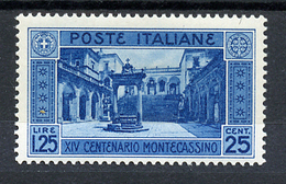 1929 -  Italia - REGNO  - Unif. . N.  266 - LH -  (B0111082015a - 7..) - 1900-44 Victor Emmanuel III