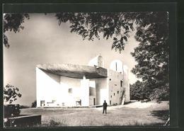 AK Ronchamp, Chapelle De Notre-Dame Du Haut Von Bauhaus-Architekt Le Corbusier - Buildings & Architecture