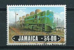 1985 Jamaica $4.00 Locomotives,train,railways,trein,zug Used/gebruikt/oblitere - Jamaica (1962-...)