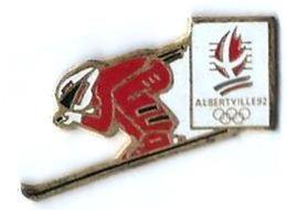 JO ALBERTVILLE 92 - J7 - DESCENTE - Verso : C COJO / 1991 - Giochi Olimpici