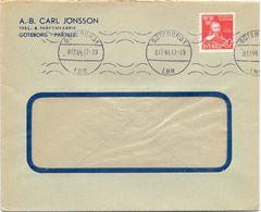 Enveloppe Kuvert - Pub Reklam Parfymfabrik AB Carl Jonsson -  Sverige Zweden 1944 - Entiers Postaux