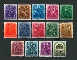 UNGHERIA 1938 - 900° Anniversario Della Morte Di Santo Stefano - 14 Valori - MH - Michel 551-64 - Ungheria