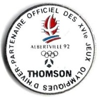 ALBERTVILLE 92 - JO23 - THOMSON - Verso : C COJO / 1990 - Juegos Olímpicos